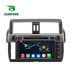 Android 5.1 Quad-Core Car Stereo DVD Player GPS Navi For Toyota New Prado 2014 #Kunfine