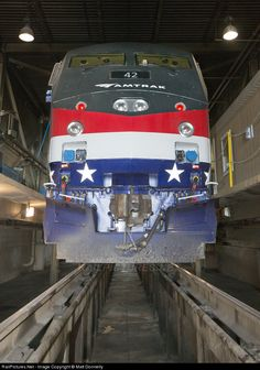 RailPictures.Net Photo: 42 Amtrak GE P42DC at Unknown, District of Columbia by Matt Donnelly