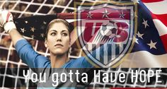 Hope Solo USA Soccer