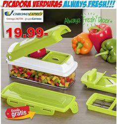 #cocina #hogar #regalos #picadora #compras #ofertas #descuentos Comprar picadora de verduras Always Fresh Dicer. http://www.yougamebay.com/es/product/comprar-picadora-de-verduras-y-frutas-always-fresh-dicer