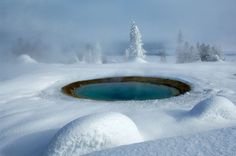 Yellowstone National Park - now to go in the winter!