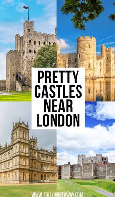 If you are looking for fairytale castles near London this is the list for you! These are 10 castles that are only a day trip from London. Day Trips From London, Things To Do In London, Must See In London, Travel Destinations, Travel Tips, Travel Abroad, Travel Europe, European Travel, Travel Essentials