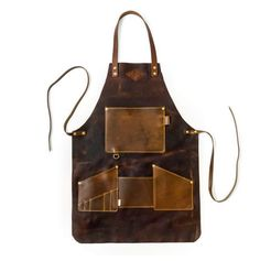 Let's make your trade look even more official! These full grain leather aprons are all handmade to order and personalized for each customer with 🔥 branded initials. Leather Apron, Leather Projects, Leather Tooling, Blacksmithing, Leather Craft, Leather Gifts, Hand Sewing, Sewing Projects, Sewing Hacks