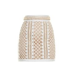 Balmain Lace-up leather mini skirt (17.250 BRL) ❤ liked on Polyvore featuring skirts, mini skirts, bottoms, balmain, юбки, ivory, leather mini skirt, ivory skirt, bodycon skirt and leather skirts