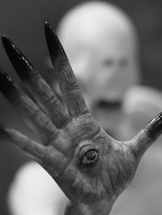 From Pan's Labyrinth by Guillermo del Toro.  The scariest part of that movie has these hands.