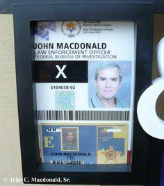 fake cia id identification cards pinterest umbrella corporation