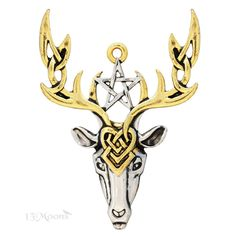 Beltane Stag Pendant