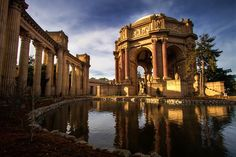 San Francisco Palace of Fine Arts: Built for the 1915 World's Fair