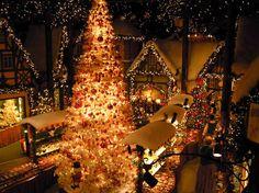 Rothenburg Christmas Shoppe. Bavaria, Germany.