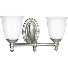 This is the vanity light we'll use, but it will hang the other way.  This just looks upside down to me, even though I know it can go either way.