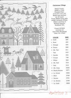 Christmas Village • 5/5 LHS Chart