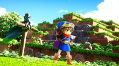 nice 'Minecraft'-encouraged RPG 'Dragon Quest Builders' hits US shores in Oct Dragon Quest, Playstation, Trailer Peliculas, Offline Games, Nintendo Eshop, Indie Games, News Games, Video Games, Rpg
