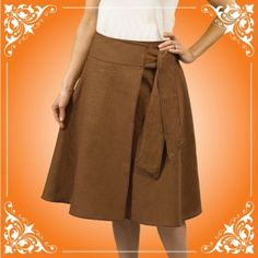 Here is a tutorial for a wrap skirt using a Baby Lock Serger!