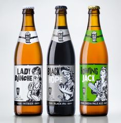 'Bearded lady' and other wild images sell niche beer
