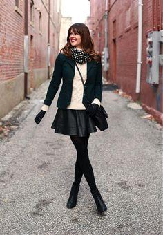 How to wear rokjes in de winter