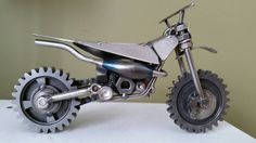 Hey, I found this really awesome Etsy listing at https://www.etsy.com/listing/218868865/custom-made-scrap-metal-art-two-stroke
