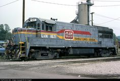 RailPictures.Net Photo: LN 1621 Louisville & Nashville GE U25B at Corbin, Kentucky by Sid Vaught