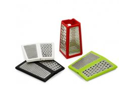 Box grater that folds flat for storage. If we had a smaller kitchen this would be an excellent idea.