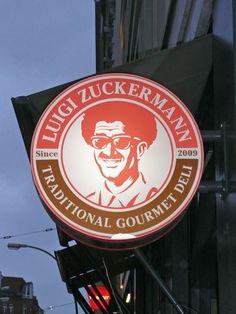 Berlin. Luigi Zuckermann Baguettes.
