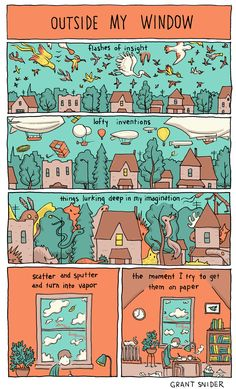 INCIDENTAL COMICS: Outside My Window