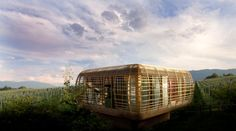 The Fincube tiny house is off-grid, portable and enjoys a 360 degree view of the world