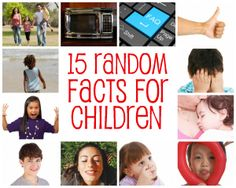 "Fun facts about kiddos:  my favorite- ""On average, a 4-year-old child asks 437 questions a day.""   :)"