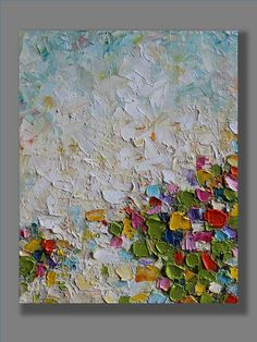 Original abstract oil painting with palette knife on canvas TITLE: My dream SIZE: 8 x 10 MEDIUM: Oil CANVAS: Stretched canvas 0.75 thickness. The edges are painted. The frame is optional. It is protected with a varnish. SIGNATURE: It is signed on the back. PAYMENT: Pay Pal or major
