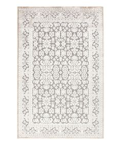Look at this #zulilyfind! Ivory & Gray Transitional Rug by Jaipur Rugs #zulilyfinds