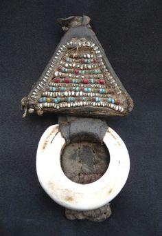 Africa, Old Tuareg Leather Talisman - Shells - Niger   eBay
