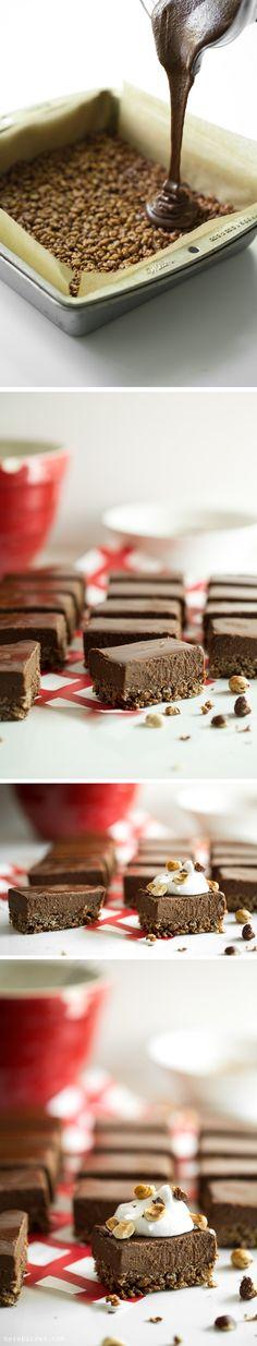 Knuspriger Schokoladen-Dessert