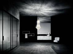 FLYER - Wooden vanity top / marble / granite / corian® by Boffi Wooden Vanity, Glass Vanity, Boffi, Bathroom Collections, Corian, Vanity Units, Amazing Bathrooms, Soho, Icon Design