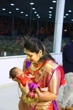 Kanjeevaram Red saree Matching outfits mother and son #GoldJewellerySouthindian #KidsGoldJewellery