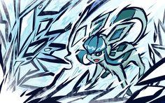 Glaceon | Ice Shard by ishmam.deviantart.com on @deviantART