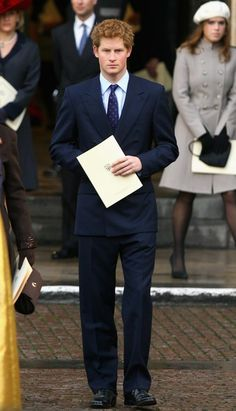 Prince Harry - The Queen and Duke Of Edinburgh Celebrate Diamond Wedding Anniversary