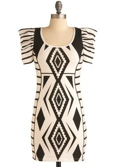 gregarious geometry dress - $84.99