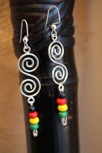 Rasta Earrings //