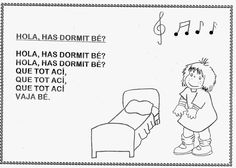 CANTORES INFANTILES: HOLA, HAS DORMIT BE?