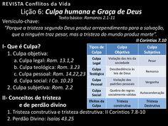 Culpa humana e graça de Deus by Pr. Welfany Nolasco Rodrigues via slideshare