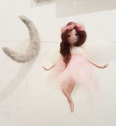 Felt fairy needle felted . by Giodali on Etsy