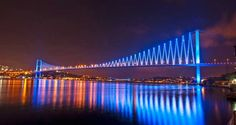 Bosphorus Bridge - Istanbul, Turkey