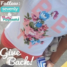 Thank you Eva for supporting #PrettyPurposeful & #Sevenly! Your outfit = awesome! #BacktoSchool #Fashion #FashionforaCause