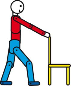 Exercises For People With MS | Lunge exercise for people with multiple sclerosis (MS)