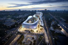 Gallery of Aedas Wins Competition for Dragon/Phoenix-Inspired Transportation Hub in Sanya, China - 3