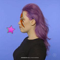 Inspired By David Bowie: Ziggy Stardust Tutorial