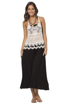 Glow With It Skirt - Black