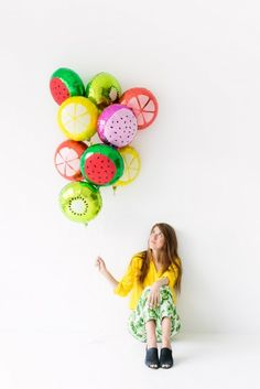 #DIY Balloon Slices