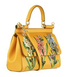 f9eb5b316a21 Accessories  Tote Bags Dolce   Gabbana Small Embellished Sicily Bag
