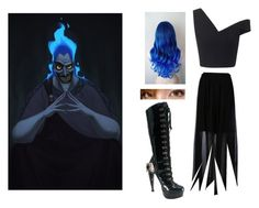 """Hades-Disney-Hercules"" by punkrockprincessofthenorth ❤ liked on Polyvore"