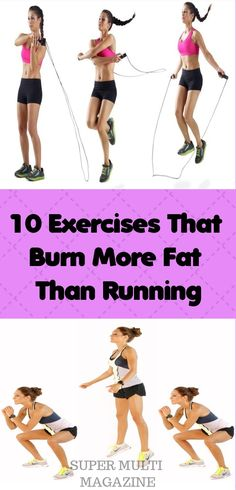 10 Exercises That Burn More Fat Than Running - Super Multi Magazine