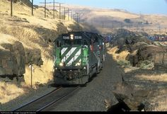 RailPictures.Net Photo: FURX 7246 First Union Rail (FURX) EMD SD40-2 at North Dalles, Washington by Indecline